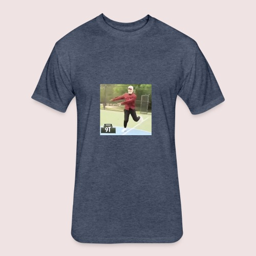Old guy meme merch - Fitted Cotton/Poly T-Shirt by Next Level