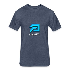 Aiiswift - Fitted Cotton/Poly T-Shirt by Next Level
