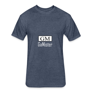 gamister_shirt_design_1_back - Fitted Cotton/Poly T-Shirt by Next Level