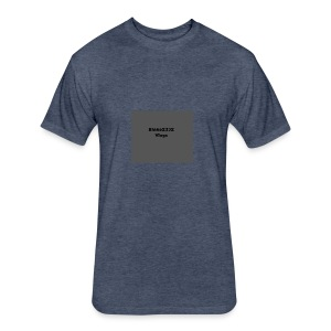 sports where - Fitted Cotton/Poly T-Shirt by Next Level