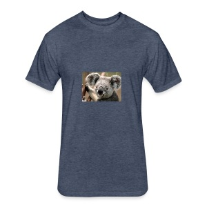 Koala - Fitted Cotton/Poly T-Shirt by Next Level