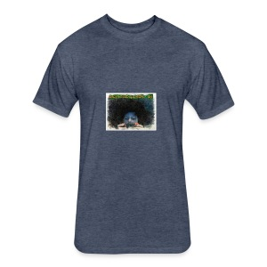 ANIMATED PICTURE - Fitted Cotton/Poly T-Shirt by Next Level
