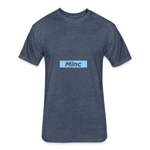 MincCutout - Fitted Cotton/Poly T-Shirt by Next Level