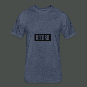 Keedro logo spreadshirt - Fitted Cotton/Poly T-Shirt by Next Level