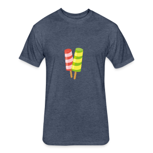design-05 - Fitted Cotton/Poly T-Shirt by Next Level