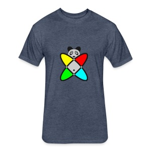 SCIENCE PANDA - Fitted Cotton/Poly T-Shirt by Next Level