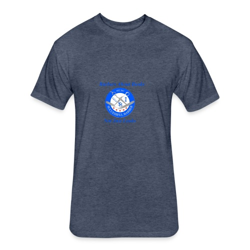 BarberShop Books - Fitted Cotton/Poly T-Shirt by Next Level