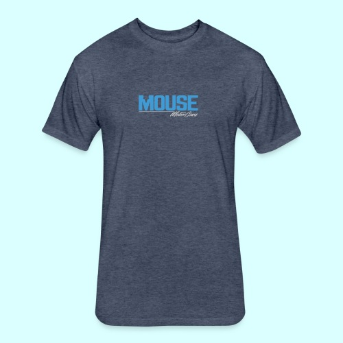 Mouse MotorCars - Fitted Cotton/Poly T-Shirt by Next Level