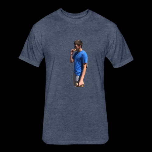 Donut Kade - Fitted Cotton/Poly T-Shirt by Next Level