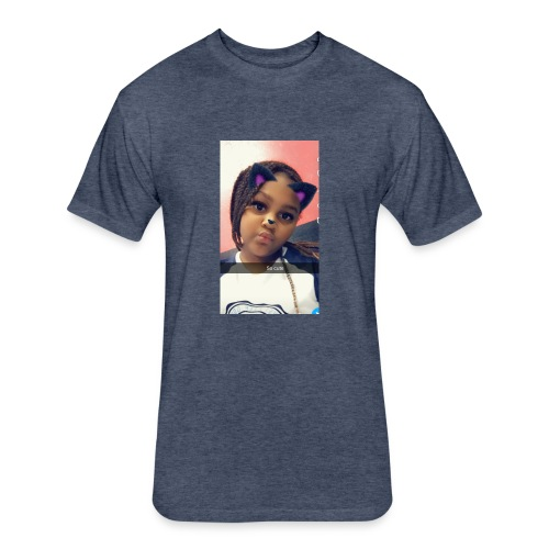 zakearr fam - Fitted Cotton/Poly T-Shirt by Next Level