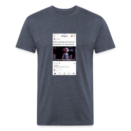 FF750A50 81CE 4D2B 8F8C 430183B78E91 - Fitted Cotton/Poly T-Shirt by Next Level