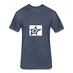 Counting Stars - Fitted Cotton/Poly T-Shirt by Next Level