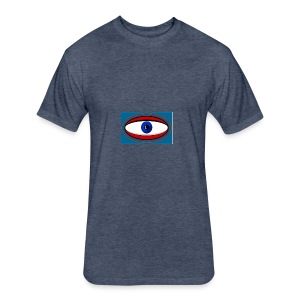 cyclops - Fitted Cotton/Poly T-Shirt by Next Level