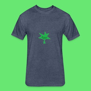 ESCLUSIVE!! 420 weed is coolio for kidlios SHIrT!1 - Fitted Cotton/Poly T-Shirt by Next Level