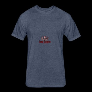 logo3 - Fitted Cotton/Poly T-Shirt by Next Level