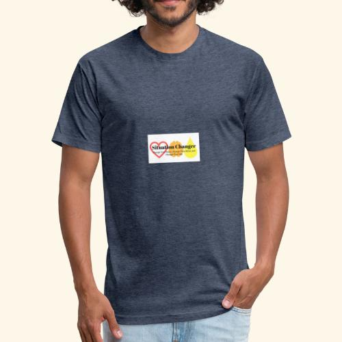 Situation Changer Series 10 - Fitted Cotton/Poly T-Shirt by Next Level