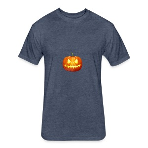 halloween-pumpkin - Fitted Cotton/Poly T-Shirt by Next Level