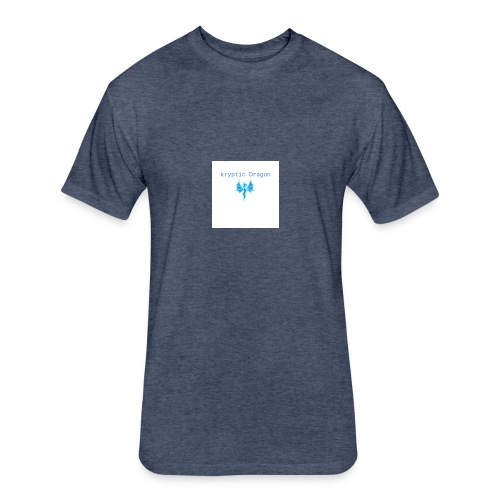 kryptic logo - Fitted Cotton/Poly T-Shirt by Next Level