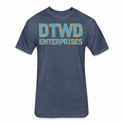 DTWD ENTERPRISES Duuuval - Fitted Cotton/Poly T-Shirt by Next Level