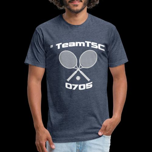 TSC Tennis - Fitted Cotton/Poly T-Shirt by Next Level