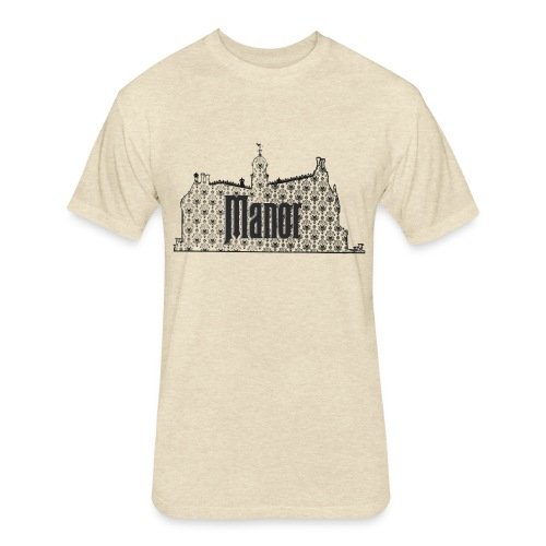 Mind Your Manors - Fitted Cotton/Poly T-Shirt by Next Level