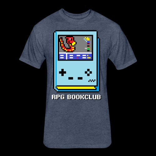 RPG Bookclub Logo - Fitted Cotton/Poly T-Shirt by Next Level