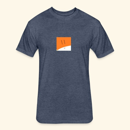 Papery - Fitted Cotton/Poly T-Shirt by Next Level