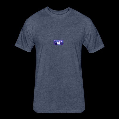 dream on - Fitted Cotton/Poly T-Shirt by Next Level