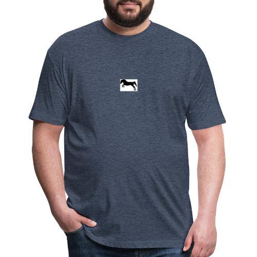 Finesse! - Fitted Cotton/Poly T-Shirt by Next Level