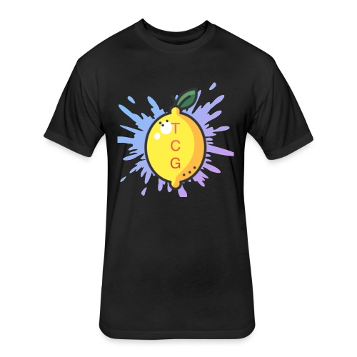 lemon splash- TCG - Fitted Cotton/Poly T-Shirt by Next Level