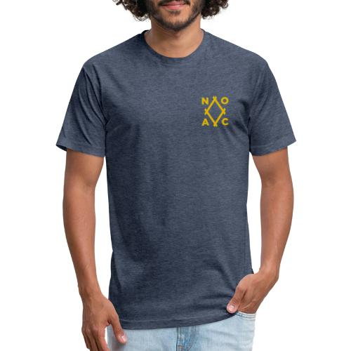 NOAC - Fitted Cotton/Poly T-Shirt by Next Level