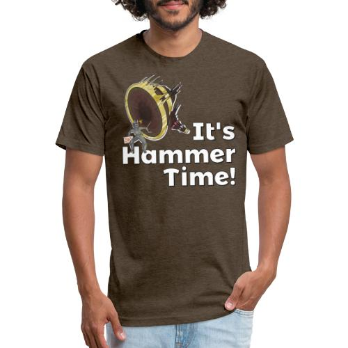 It's Hammer Time - Ban Hammer Variant - Fitted Cotton/Poly T-Shirt by Next Level