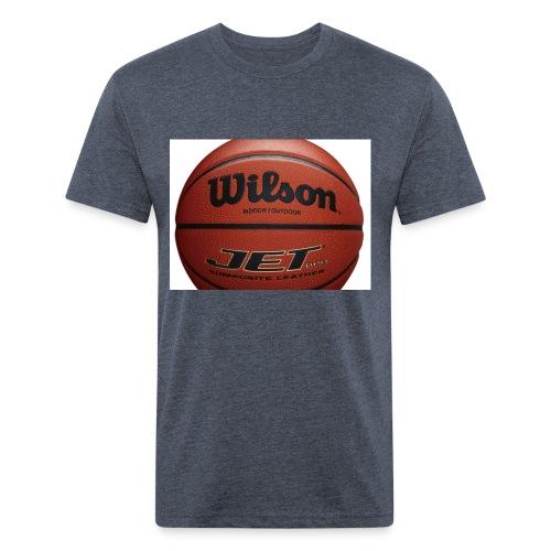 D7D3DA8A 99F8 4686 910E DF6179D3929F - Fitted Cotton/Poly T-Shirt by Next Level