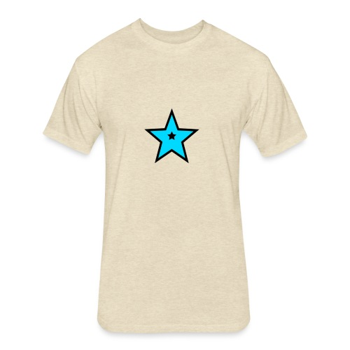 New Star Logo Merchandise - Fitted Cotton/Poly T-Shirt by Next Level