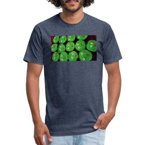 Cupcake Smiles - Fitted Cotton/Poly T-Shirt by Next Level