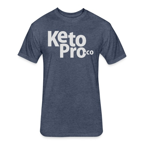 Keto Pro - Fitted Cotton/Poly T-Shirt by Next Level