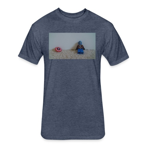 chill like captin - Fitted Cotton/Poly T-Shirt by Next Level