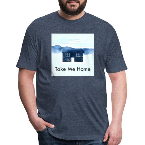 Take Me Home - Fitted Cotton/Poly T-Shirt by Next Level