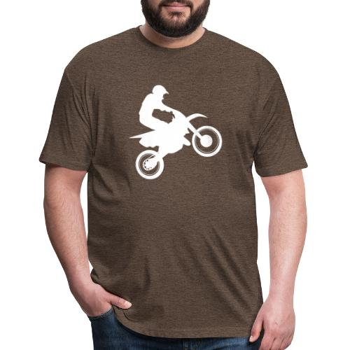Motocross - Fitted Cotton/Poly T-Shirt by Next Level