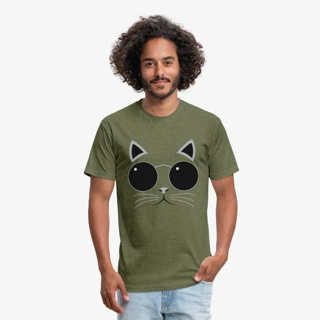 Hipster Cat T-Shirt