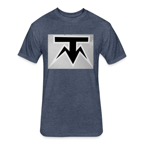 TMoney - Fitted Cotton/Poly T-Shirt by Next Level