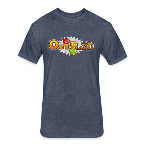 Punch out play'd! - Fitted Cotton/Poly T-Shirt by Next Level