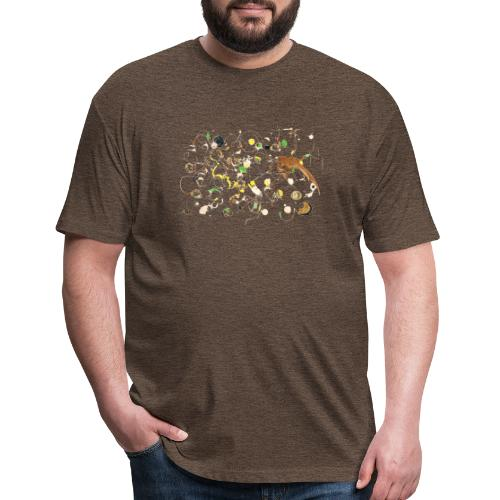 Nature - Fitted Cotton/Poly T-Shirt by Next Level