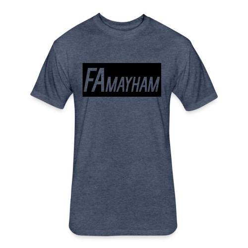 FAmayham - Fitted Cotton/Poly T-Shirt by Next Level