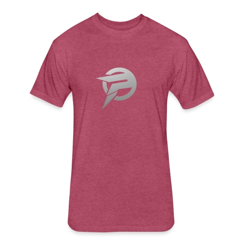 2dlogopath - Fitted Cotton/Poly T-Shirt by Next Level