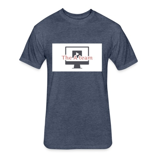 Youtube logo - Fitted Cotton/Poly T-Shirt by Next Level