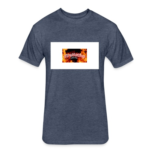 FireNation - Fitted Cotton/Poly T-Shirt by Next Level