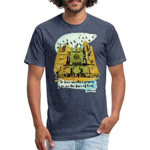 El camino - Fitted Cotton/Poly T-Shirt by Next Level