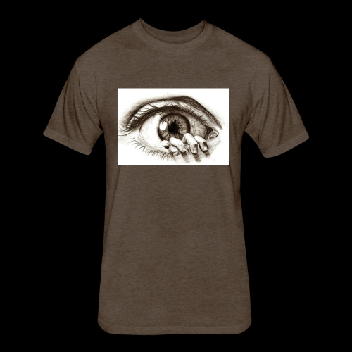 eye breaker - Fitted Cotton/Poly T-Shirt by Next Level