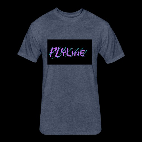 Flyline fun style - Fitted Cotton/Poly T-Shirt by Next Level